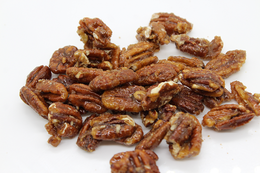 brown suagr and honey pecans