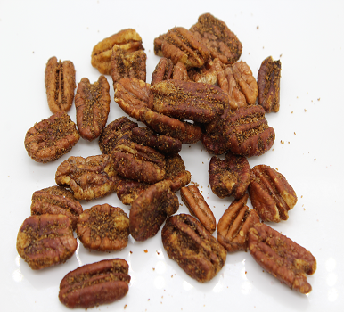 hot and spicy candied pecans