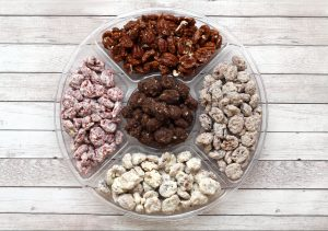 glazed pecans party tray