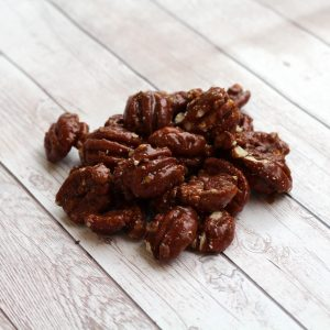 gourmet glazed brown sugar and honey pecans