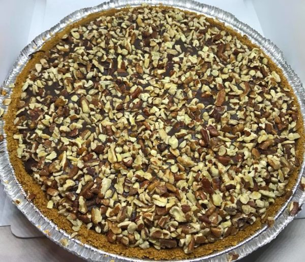 gourmet milk chocoate caramel pie