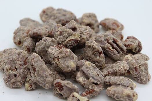 pumpkin spice covered pecans