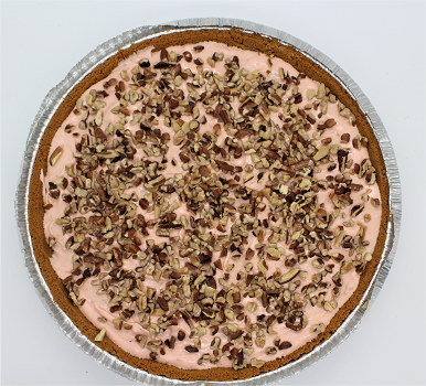 Raspberry White Chocolate Caramel Pecan Pie